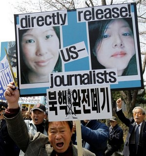 South Korea North Korea Journalists Held